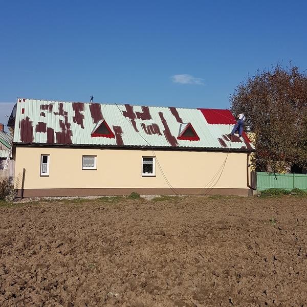 Malowanie dachów 60