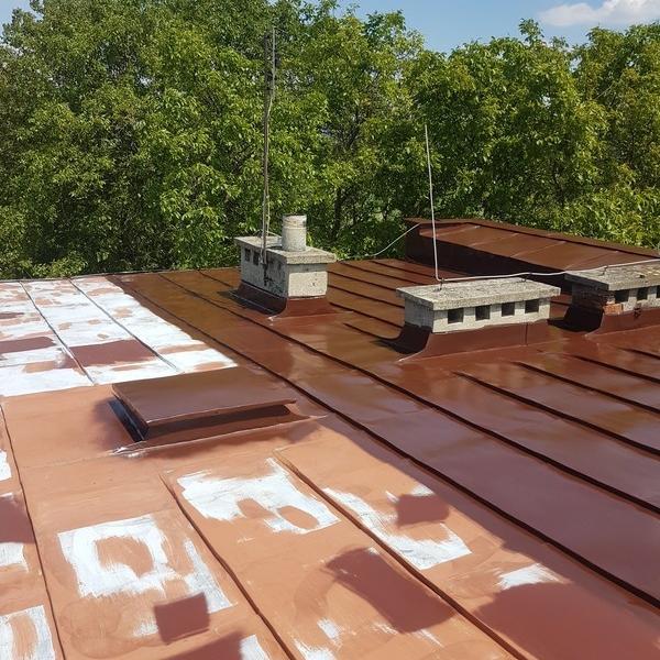 Malowanie dachów 82